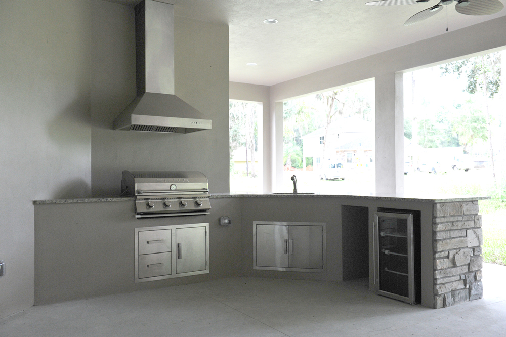 Summer Kitchen in Ocala, FL by Boutwell Construction