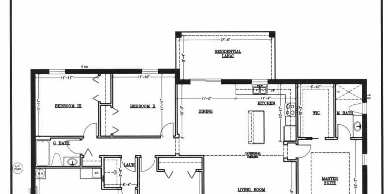 Custom floor plan for Ocala home